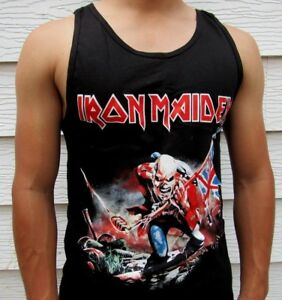 Iron Maiden Fear Of The Dark Metal Rock Men/'s Tank Top Tailles