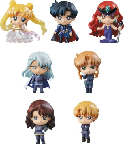 SAILOR MOON PETIT CHARA SERIES DARK KINGDOM BOX SET 7 PCS MEGAHOUSE LIMITED NEW