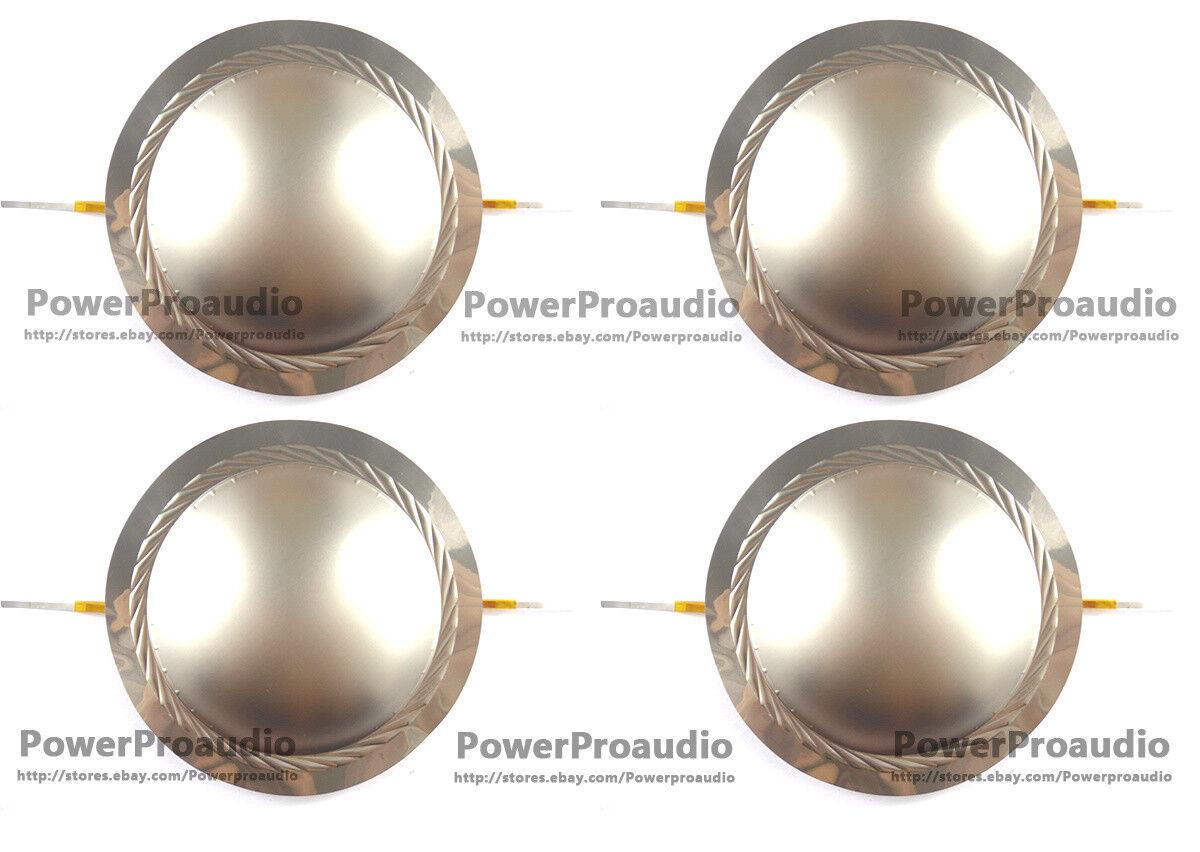 4PCS LOT Diaphragm For VC 74.5mm 74.6mm Voice Coil 8 Ohm