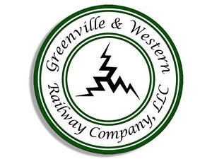 4 Greenville Western Railway Logo Sticker Decal Ebay