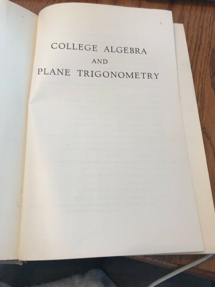 modern algebra and trigonometry by vance pdf download