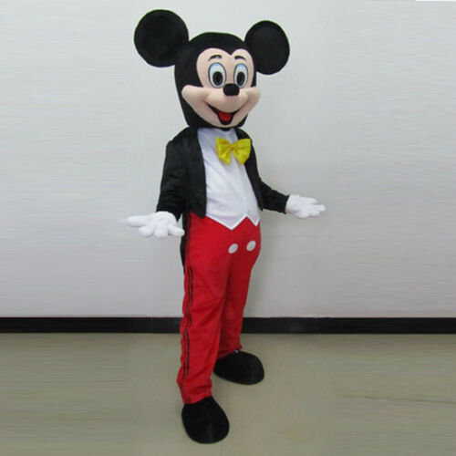 2019 Adult Mickey Mouse Mascot Costume Halloween Party Cosplay Dress Outfit Suit