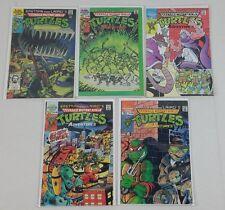 Lot of 5 Teenage Mutant Ninja Turtles Adventures 1989 ARCHIES #2 #3 #4 #9 #10