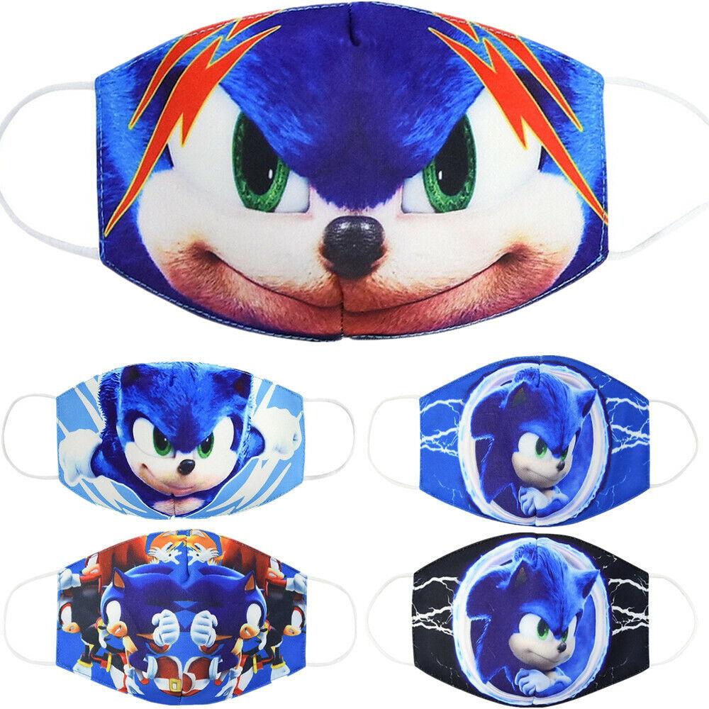 Sonic The Hedgehog Mask Face Adult Video Game Sega Anime Cosplay Costume For Sale Online Ebay
