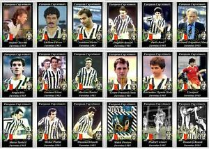 Juventus European Cup Winners 1985 Football Trading Cards Ebay