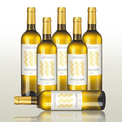 6 Fl. Intuicion Sauvignon Blanc 2016, aromatisch-frischer Weißwein, Wein trocken