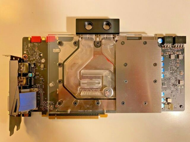 My adventure liquid cooling the ASUS GeForce GTX 1080 Ti Turbo