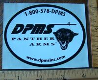 Dpms Panther Arms Firearms Decal Sticker