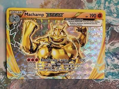 Machamp Break 60//108 Holo Rare Evolutions Pokemon Card NM