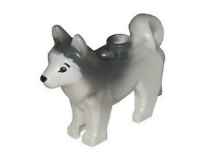 Lego-City-Pet-Husky-chien-de-neige-traineau-Arctique-Animal-Loup-Figurine-Noel