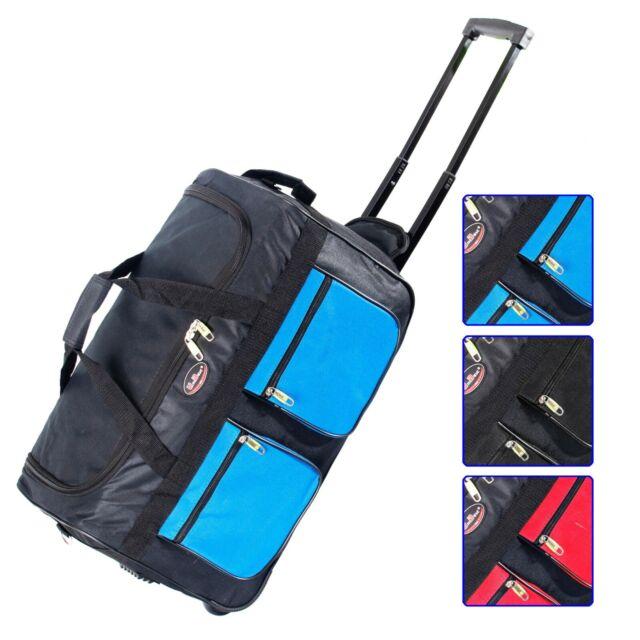 Luggage Rolling Duffle Trolley Travel