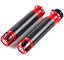 Universal-Motorcycle-Carbon-Fiber-22mm-7-8-034-Handlebar-Hand-Grips-Handle-Bar-Ends miniature 6