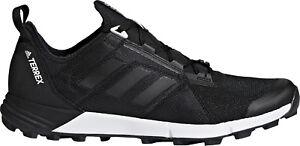 Adidas Terrex En Apesanteur Vitesse Homme Chaussures De Course-noir-afficher Le Titre D'origine