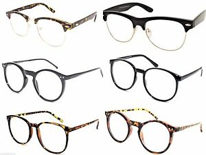 Cat Eye Optical Frames Clear Lens Glasses Geek Nerd Vintage Retro Style 1173