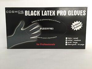 Wiederverwendbare Latexhandschuhe Latex Friseur Handschuhe Größe L