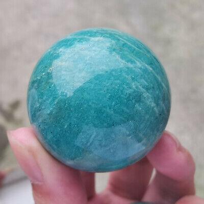 1PC Natural amazonite quartz sphere quartz crystal ball reiki healing 35mm+ | eBay