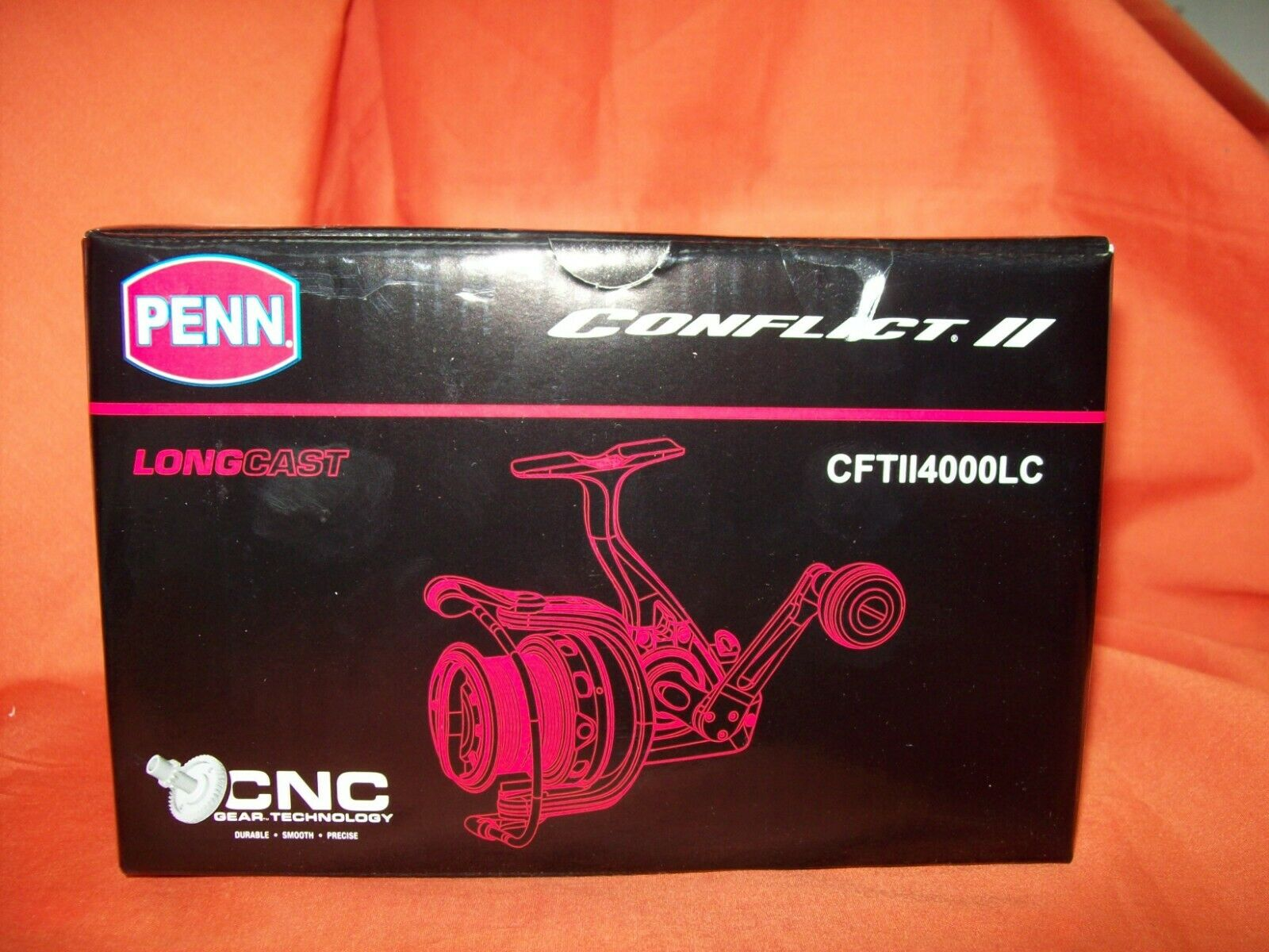 PENN CONFLICT II Spinning Reel Gear Ratio 4.8 1  1481281 CFTII4000LC