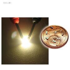 100 SMD LED 0603 blanco cálido SMDs cálidos mini white warmwhite SMT