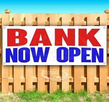 Bank Now Open Advertising Vinyl Banner Flag Sign Many Sizes