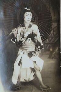 Japonais Acteur. Orig. Photographie, Lièvre Maizuru, Silver Print, Environ 1910-afficher Le Titre D'origine