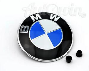 bmw 5 series f10 f11 f18 f07gt hood emblem logo original. Black Bedroom Furniture Sets. Home Design Ideas