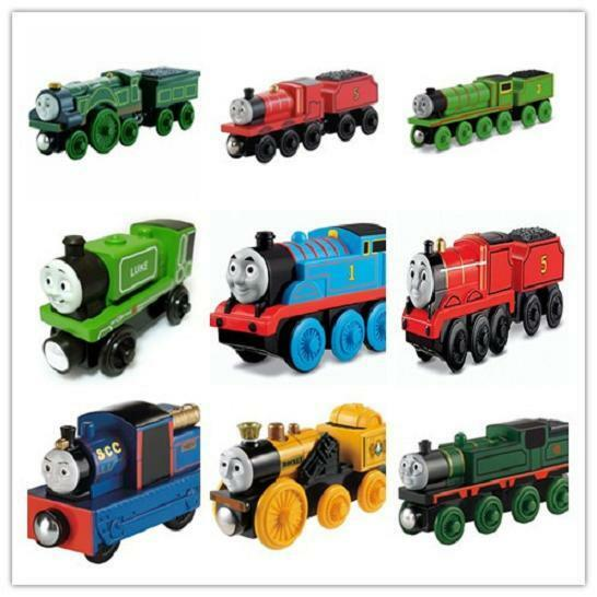 New Thomas And Friends Take-n-Play Wooden Railway Train Engine