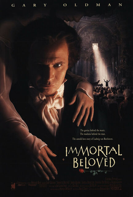 IMMORTAL BELOVED (1994) ORIGINAL MOVIE POSTER  -  ROLLED  -  DOUBLE-SIDED