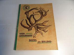 Old-Antler-Catalog-Gattermann-Dassel-At-Solling