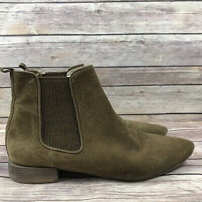 Zara Basic Collection Women's Brown Suede Ankle Boots Size 409 20 | eBay
