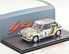 NEW 1/43 Spark S3859 Renault R5 GT turbo, Ivory Coast Rallye 1989, #9