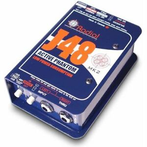 Radial-Engineering-J48-Single-Channel-Active-Direct-Box-NEW-2-DAY-DELIVERY