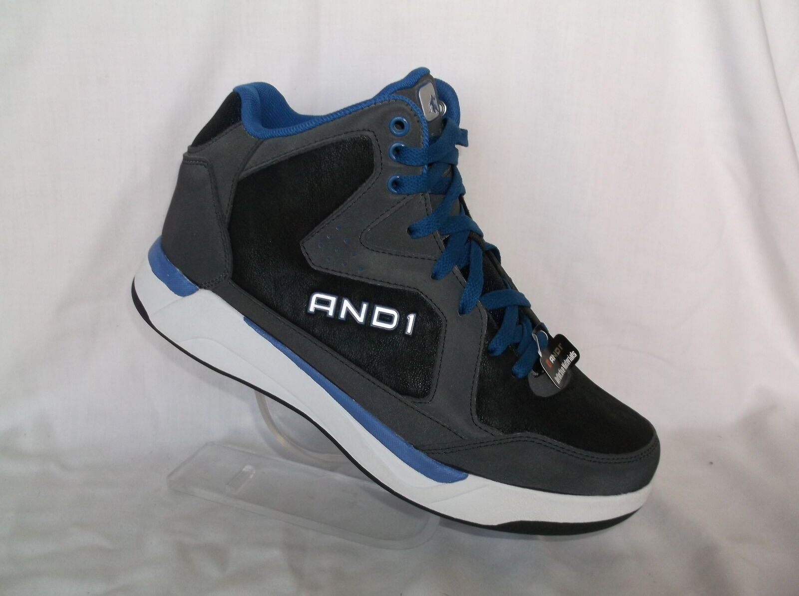 AND1 (AMBASSADOR) COMFORT PADDED SHOE NON MARKING OUTSOLE MENS ATHLETIC SHOE PADDED NIB 65852f