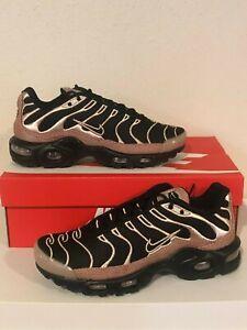 Detalles acerca de Nike Air Max Plus PRM Tn sintonizado para mujer (talla  7.5) Negro/Oro 848891 005 Premium- mostrar título original