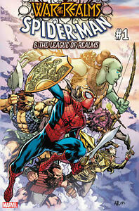 War-of-the-realms-Spider-Man-amp-the-league-of-Realms-1-Marvel-Comics-2019-NM