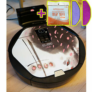 new iclebo arte ycr m05 11 intelligent robot vacuum cleaner cherry catch mop 759796062579 ebay. Black Bedroom Furniture Sets. Home Design Ideas