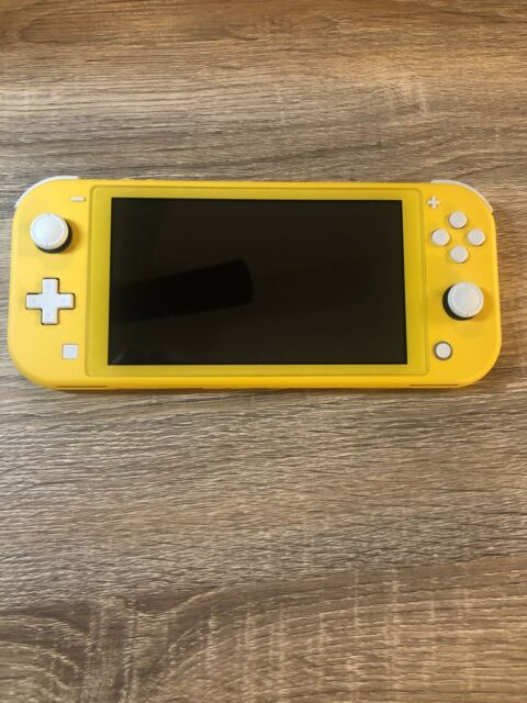 Candy Yellow Nintendo Switch Lite Handheld Console Yellow