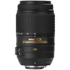 Nikon AF-S DX 55-300mm f/4.5-5.6G ED VR Telephoto Zoom Brand New Cod jeptall