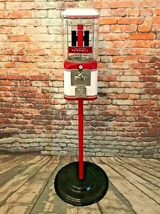 stand Indian Motorcycle vintage coin op gumball machine M/&m dispenser
