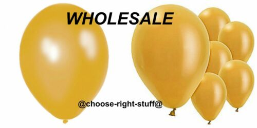 WHOLESALE BALLOONS 100-5000 BULK PRICE Latex JOBLOT Quality Any Occasion BALLONS