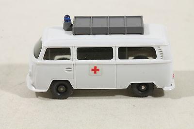 1037/1b Wiking Vw T2 Econ La Croce Rossa Con Costruzione 1972 - 1974/in Rosa Antico-mostra Il Titolo Originale