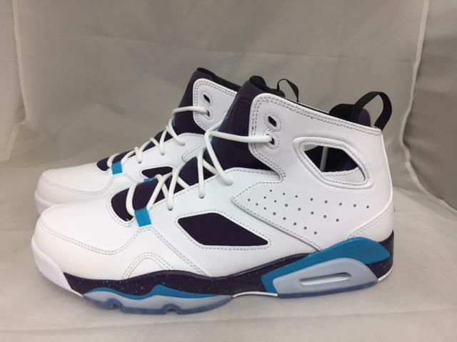 34c0f532d9db Jordan Flight Club  91 Mens 555475-105 White Blue Lagoon Purple ...