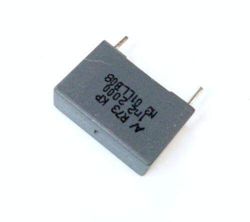 Arcotronics 1,2nF 2000V J KP Condensatore Poliestere 6x18x12mm passo 15mm