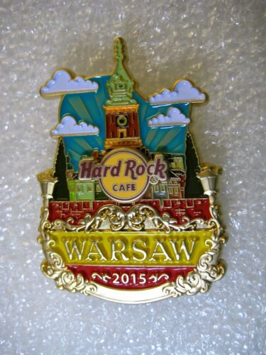 WARSAW,Hard Rock Cafe Pin,Icon City Series,,LE