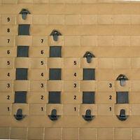 6 Pack Blackhawk S.t.r.i.k.e. Molle Speed Clips 3, 5, 7 & 9 Width