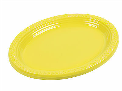 """5, 10, 25, 50, 100 x Disposable 12"""" Inch Plastic Oval Food Sandwich Platter Tray"""