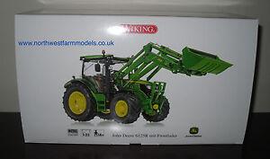 Wiking échelle 1/32 John Deere 6125r avec chargeur modèle de tracteur 4006190773447