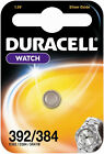 Duracell Silver Oxide 1.5v Watch Batteries All Sizes 392 / Sr41w 2