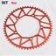 High-quality AL Foldable Bike Chainring 50T-58T Small Wheel Bike Chainring130BCD