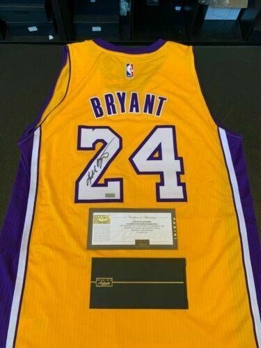 Kobe Bryant NBA Original Autographed Jerseys for sale | eBay