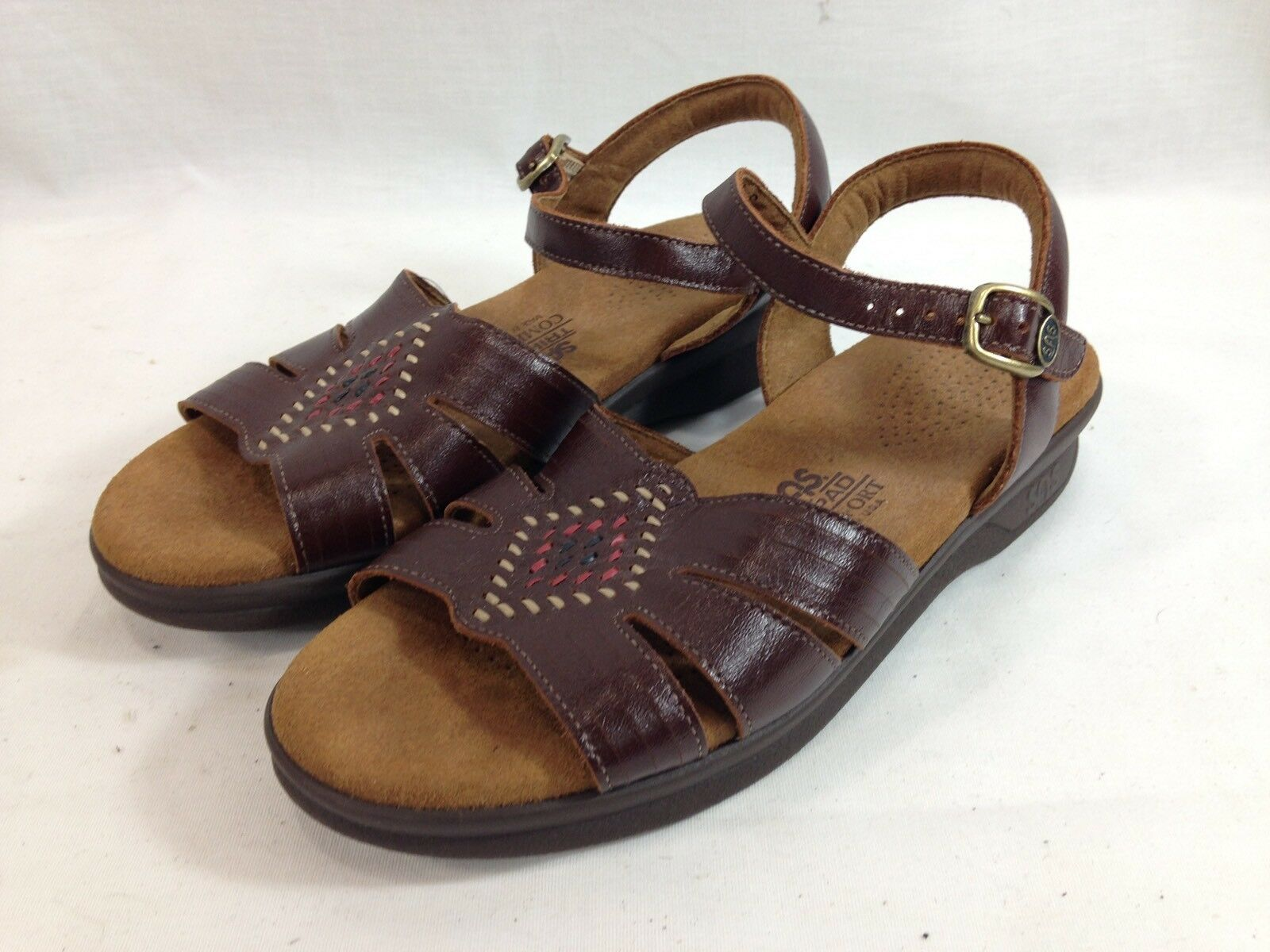 SAS Tripad Comfort Sandals shoes Womens Womens Womens 6 Brown Open Toe Ankle Strap USA 669f29